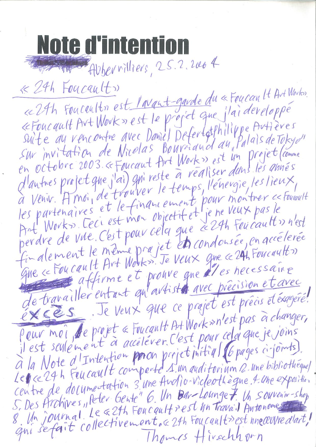 24H-Foucault_Note d'intention_2004 (1)