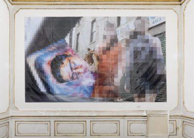 Thomas Hirschhorn_Galleria Alfonso Artiaco, Napoli_April 2017