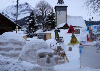 Mürrischer Schnee (3)