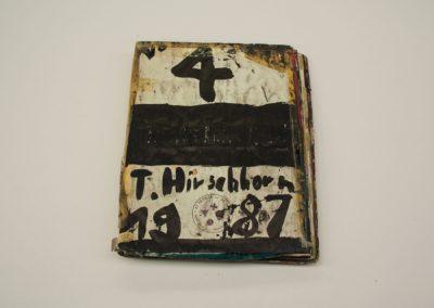 """""""Cahier n°4"""", 1987 (cover)"""