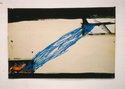 """Untitled (Early Collage)"", 1987 - 40 x 60cm"
