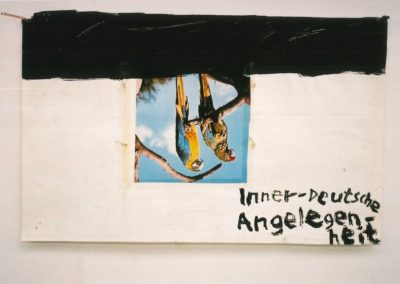 """Untitled (Early Collage)"" 1987 - 41 x 64cm"