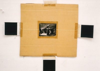 """Untitled (Early Collage)"", 1987 - 56,5 x 60cm"