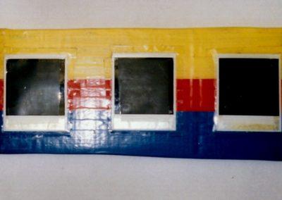 """Untitled"", 1988 - 18 x 43cm"