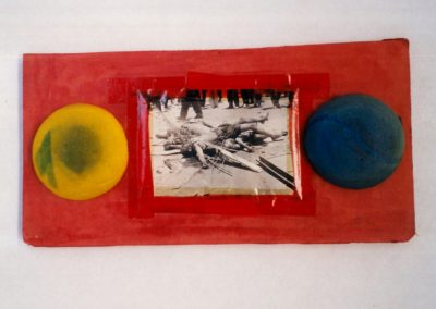 """Untitled (Early Collage)"", 1988 - 14 x 28cm"
