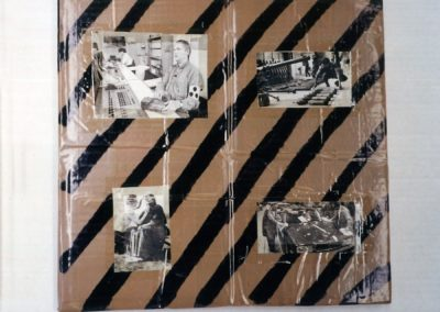"""Untitled (Early Collage)"", 1989 - 32 x 33cm"