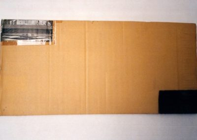 """Untitled (Early Collage)"", 1989 - 35 x 94cm"