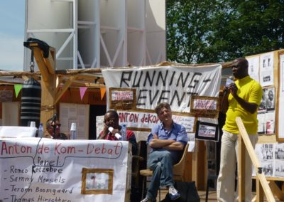 «The Bijlmer Spinoza-Festival», 2009 (Running Events: Anton de Kom-debat)