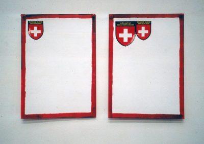 """""""Cadre"""" 1990 (Series of 2) 29,7 x 46cm"""