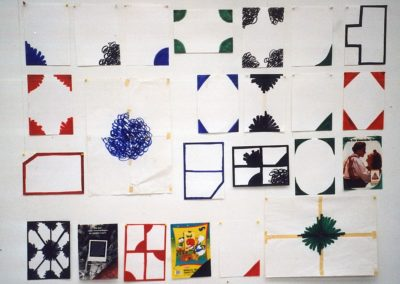 """Coin"" (Series of 24), 1990, 138 x 186cm"
