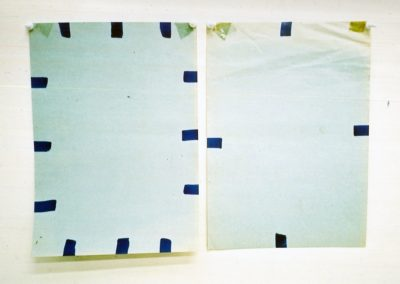 """Plein (Series of 2)"", 1990, 29,5 x 43cm"