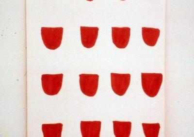 """""""Recipient"""" 1989 37,5 x 24,5cm"""