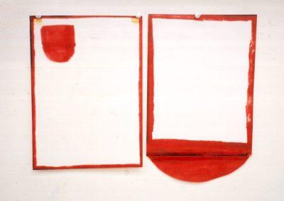 """Recipient"" 1989 (Serie de 2) 33,5 x 43cm"