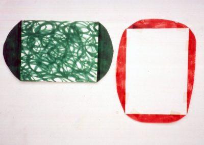"""Recipient"" 1989 (Serie de 2) 36 x 67cm"
