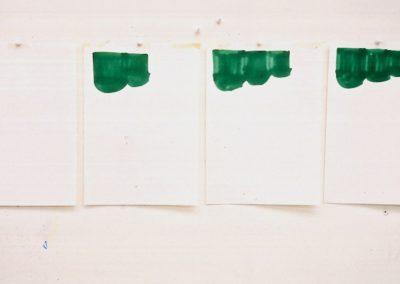 """Recipient"" 1989 (Serie de 4) 27,9 x 88cm"