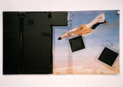 """Untitled"" (Early Collage), 1988 28 x 51cm"