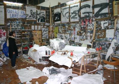 «24h Foucault», 2004 (Atelier)