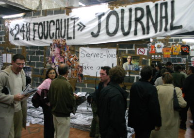 «24h Foucault», 2004 (Journal)