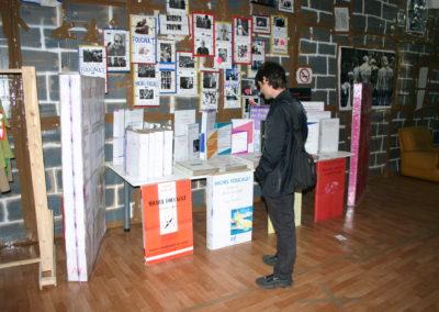 """""""24h Foucault"""", 2004 (Souvenirs Shop)"""