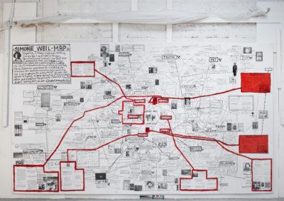 «Simone Weil-Map», 2020