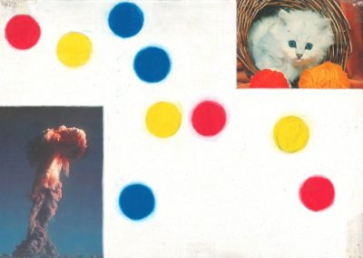 """Untitled (Early Collage)"", 1984 - 21 x 29,7 cm"