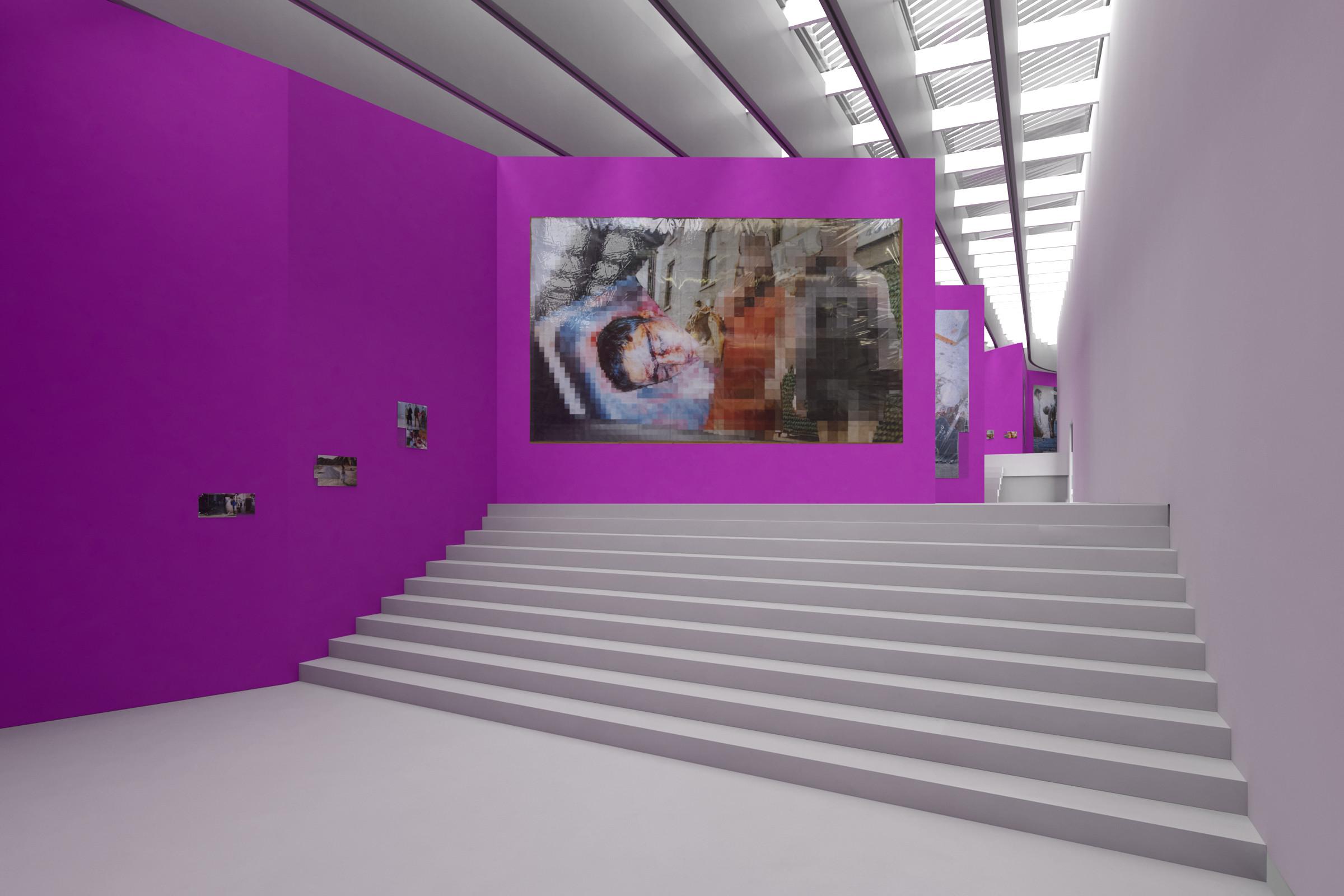"""""""The Purple Line"""", 3D view"""